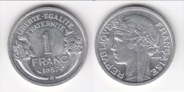 TOP QUALITE **** 1 FRANC 1957 B MORLON ALUMINIUM **** EN ACHAT IMMEDIAT !!! - France