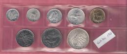 VATICAAN SERIE 1968 8 PCS 1,2,5,10,20,50,100 & 500 LIRE INCL.ZILVER - Vatican