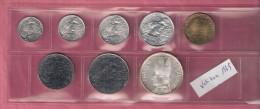 VATICAAN SERIE 1969 8 PCS 1,2,5,10,20,50,100 & 500 LIRE INCL.ZILVER - Vatican