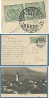 CAPORETTO REDENTA  - PANORAMA  - ANNULLO UFFICIO POSTA MILITARE 4 CORPO D'ARMATA - 1916 - ED. O.GHIDONI - CAPORETTO RED - Gorizia