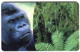 1 - Monkey - Animals - Phonecard - Germany 2004 - Oerwoud