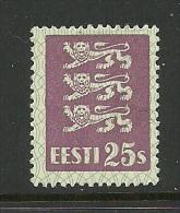 ESTLAND Estonia Estonie 1929 Michel 83 * - Estonia