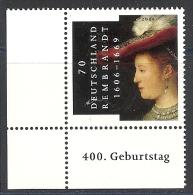 Deutschland / Germany / Allemagne 2006 2550 ** Rembrandt - Neufs