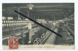 CPA - Roubaix à Identifier - La Fabrique Du Tissu - Les Métiers à Filer - Roubaix
