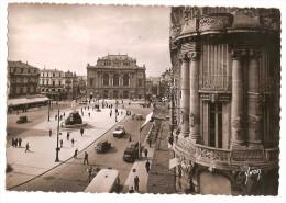 Montpellier (34) Place De La Comedie (2scann) - Montpellier