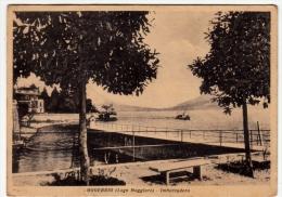 OGGEBBIO - LAGO MAGGIORE - IMBARCADERO - VERBANIA - 1950 - Vedi Retro - Verbania