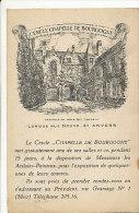 Anvers - Cercle Chapelle De Bourgogne - Longue Rue 31 - 1933 - Antwerpen