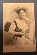 MINNA WALTER  CARTOLINA DA STEIN IN KRAIN PER TRIESTE E QUI TASSATA CON 10 H. - 1903 - Moda