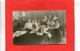 PARIS    1912  METIER ATELIER HAUTE COUTURE CHAPEAUX    CIRC OUI EDIT CARTE PHOTO - Artisanry In Paris