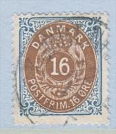 DENMARK  30      Perf.  14 X  13 1/2  (o) - 1864-04 (Christian IX)