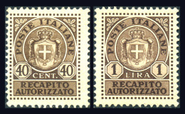ITALIA 1945 - Michel# 5-6 - Mint No Gum - Mint/hinged