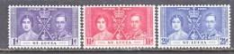 ST.  LUCIA  107-9   **  CORONATION - St.Lucia (...-1978)
