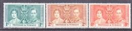 TRINIDAD  And  TOBAGO  47-9   **  CORONATION - Trinidad & Tobago (...-1961)