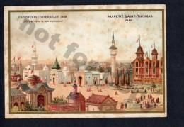 Original 1889 Universal Paris Exposition Victorian Trading Card Vintage Original Postcard Cpa Ak (W4_1247) - Chromos