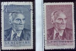 Czechoslovakia - Used (o)  - 1950 -  Sc - # 414/415, 416/417 -  See Photo´s - Czechoslovakia