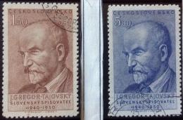 Czechoslovakia - Used (o)  - 1950 -  Sc - # 432/433 -  See Photo´s - Czechoslovakia