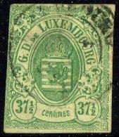 1859  Armoiries 37½ Cent.  Oblitéré - 1859-1880 Armoiries