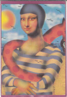 LA JOCONDE .- Baigna Lisa  ( Artus Pixel ) - Andere Illustrators