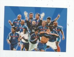 Cp , FOOTBALL , FRANCE 98 ,  Publicité Total , Elf , F.F.F. , Vierge - Calcio