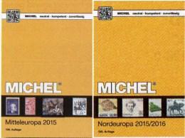 Mittel/Nord-Europa Katalog 2015/2016 Neu 132€ MICHEL Band 1+5 A UNO CH Genf Wien CZ CSR HU DK Eesti Soumi FI Latvia NO S - Alte Papiere