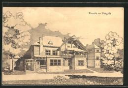 AK Remete-Vasgyar, Ansicht Einer Villa - Roumanie