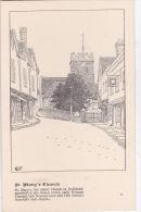 GUILDFORD - ST MARYS CHURCH - Surrey
