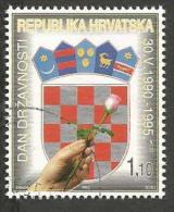 HR 1995-323 DAY OF FREEDOM, CROATIA-HRVATSKA, 1 X 1v, Used - Briefmarken
