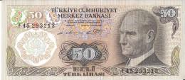 TURQUIE - 50 Lira 1970 UNC - Turquie