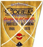 """Adesivo Sticker Autocollant Label -Attacchi Da Sci """"Cober"""" PORTILLO 1966-VALGARDENA 1970-CAMPIONATI MONDIALI SCI-1980- - Stickers"""