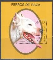 1123 Fauna Mammals Dogs 1992 Shr S/s MNH ** - Dogs