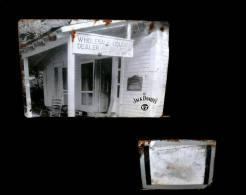 Ancienne Plaque Photographie En Métal Carte Postale Whisky Jack Daniel´s Old Advertisement Tin Metal Postcard II - Etats-Unis