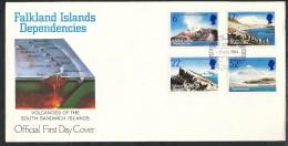 Falklandinseln, S.-Georgien U. D. S.-S.-Inseln  - FDC   - Mi.Nr. 125 - 128 - Falklandinseln