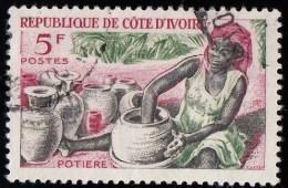 IVORY COAST - Scott #223 Potter (*) / Used Stamp - Ivory Coast (1960-...)