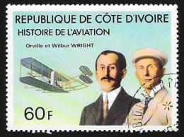 IVORY COAST - Scott #434 Wright Brothers / Used Stamp - Ivory Coast (1960-...)