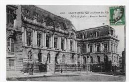 (RECTO / VERSO) SAINT QUENTIN - N° 2868 - PALAIS DE JUSTICE - PETIT PLI ANGLE EN BAS A GAUCHE - St. Quentin En Yvelines
