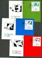 Israel MC - 1991, Michel/Philex No. : 1189-1191 - MNH - *** - Maximum Card - Maximumkarten
