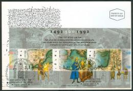Israel MC - 1992, Michel/Philex No. : Block 45 - MNH - *** - Maximum Card - Maximum Cards