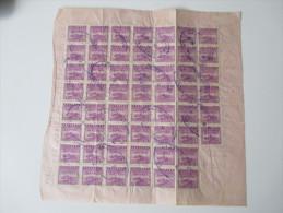 China 1949 Receipt. 9000 Gold Yuan. 200 Empty Drums. A.B.C. Express & Storage. Shanghai Mit Steuermarken / Revenues - Briefe U. Dokumente