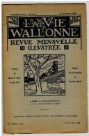 La Vie Wallonne  Revue Mensuelle Illustrée - Cultura