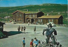 Boy Scouts In Front Of Dovregubbens Hall.  Norway. # 0572 - Scouting