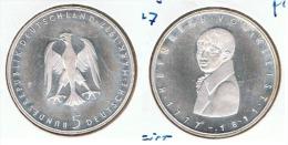 ALEMANIA DEUTSCHES  5 MARK 1977 G  PLATA SILBER. F1 - [ 7] 1949-… : RFA - Rep. Fed. Alemana