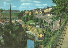 LUXEMBOURG  LUSSEMBURGO  Vallée De L'Alzette  Ville Basse Du Grund - Esch-Alzette