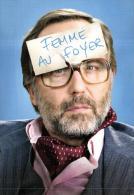 """88776 - Carte Publicitaire   Fabrice Luchini   Pour La Piece De Theatre  """" Potiche """" - Artistes"""
