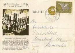 Portugal - Scarce Used Stationary Card - Enteros Postales