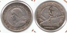 SAN MARINO 5 LIRA 1937 PLATA SILVER - San Marino