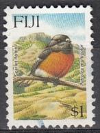 Fiji, 1995 - $1 Scarlet Robin - Nr.737 Usato° - Fiji (1970-...)