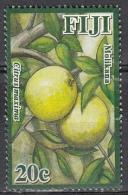 Fiji, 2011 - 20c Citrus Maxima - Nr.1244 Usato° - Fiji (1970-...)