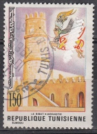 Tunisia, 1976 - 150m  Monastir Ribat - Nr.694 Usato° - Tunisia (1956-...)