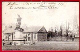 76 HARFLEUR - Place D´Armes Et Statue Jean De Grouchy - Altri Comuni