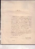 ERPENT UCCLE Marie De HERBAIS De BELLAIN Veuve VANDERDUSSEN De KESTERGAT ERPENT Comté De Namur 1832 - Obituary Notices